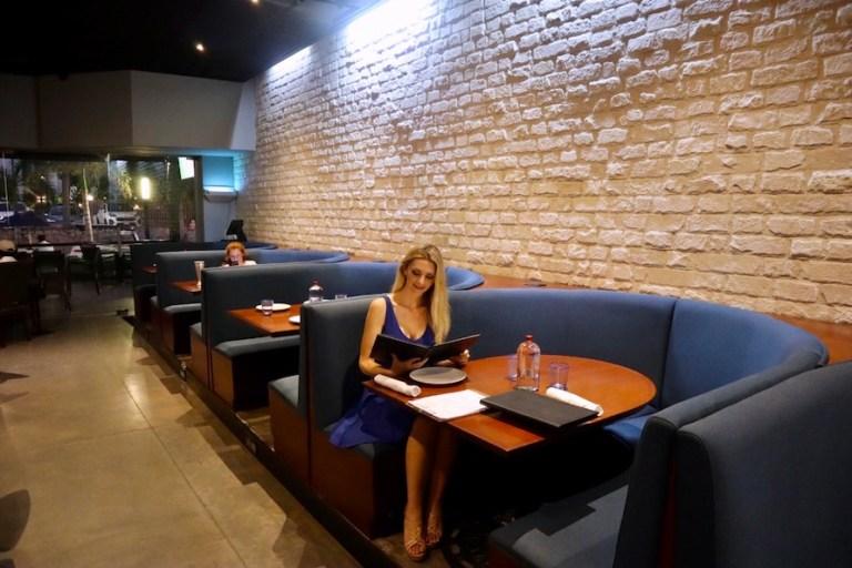 Kashlee Kucheran eating at Agatha Mazatlan