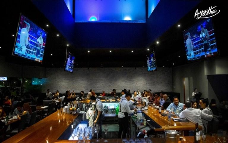 The vibe at Agatha kitchen bar in Mazatlan