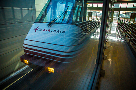 Newark airport Airtrain into manhattan - cheapest way to get into the city