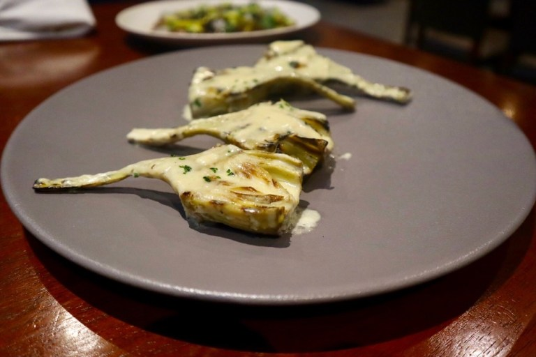 Artichoke hearts with parmesan cheese