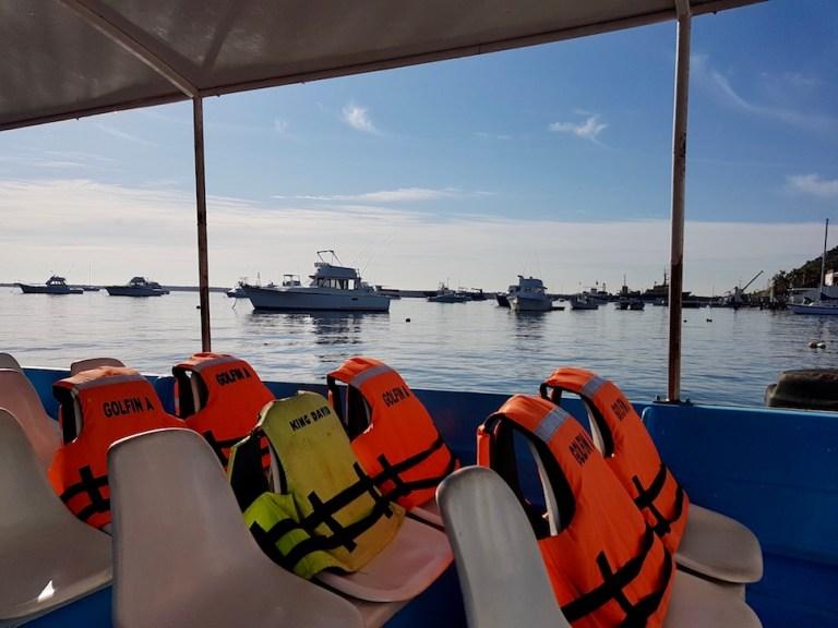 Boat tour Mazatlan