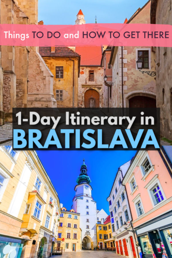 one day in Bratislava - the travel guide