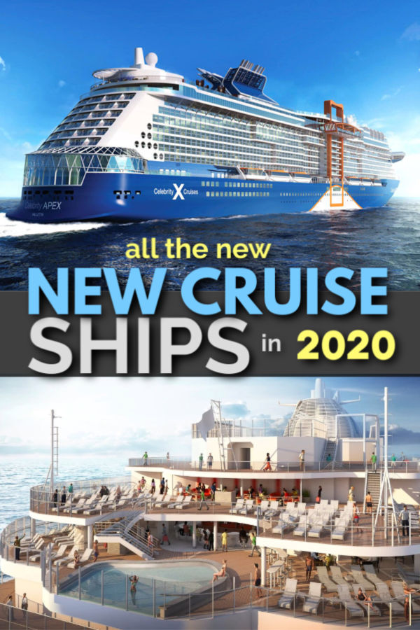 all the new cruise ships coming out in 2020