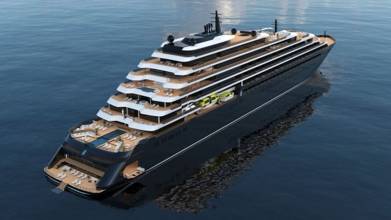 evrima new cruise ship by Ritz