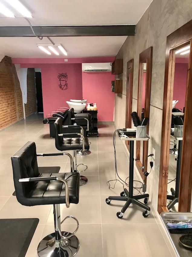 Blonde hair salon in Mazatlan