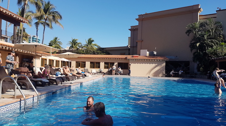 hang out at the Hotel Playa Mazatlan on a cruise stop