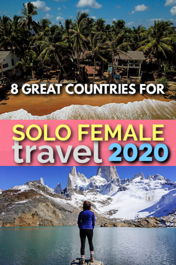 great countries for solo female travel in 2020