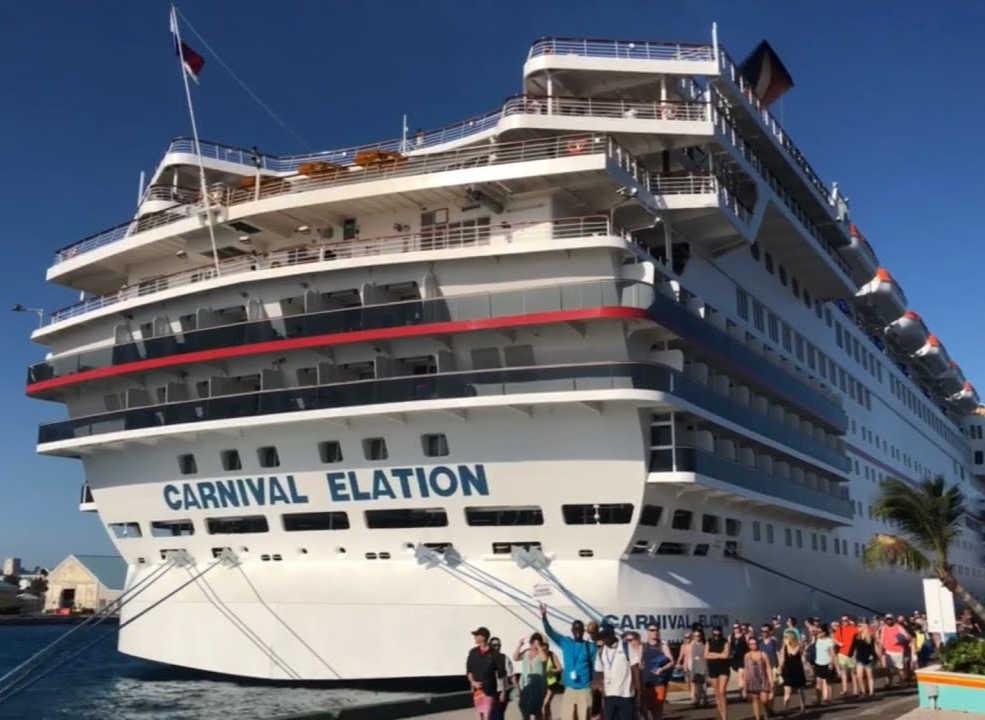 Carnival Elation port