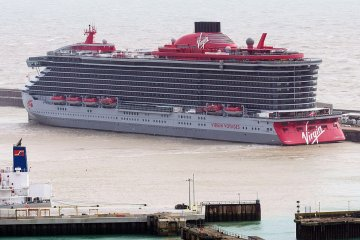 Scarlet Lady Launches, Virgin's luxury, Adults-Only Cruise Ship
