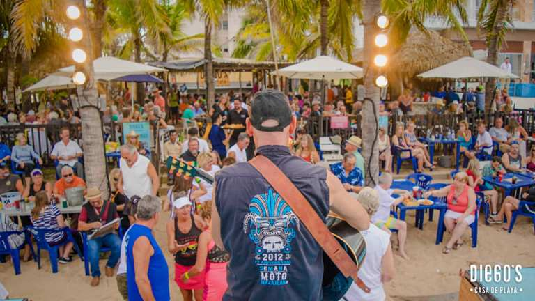 brensters beach bash - every tuesday from 2-6 in mazatlan