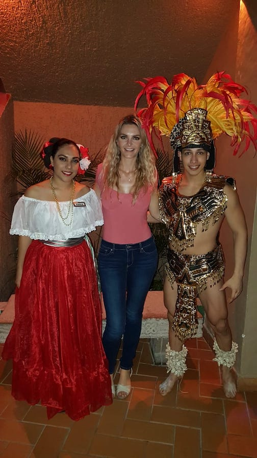 mexican fiesta night show and buffet at playa mazatlan hotel