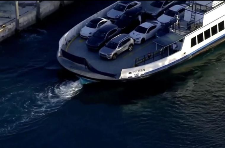 Two Women Killed After Their Car Rolls Off a Ferry And Sinks Near Miami