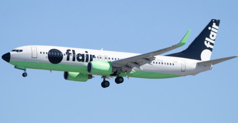 Flir airlines has low cost flights within canada