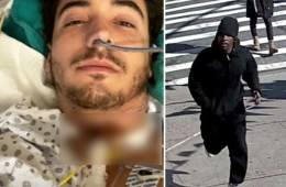french tourist slashed in neck