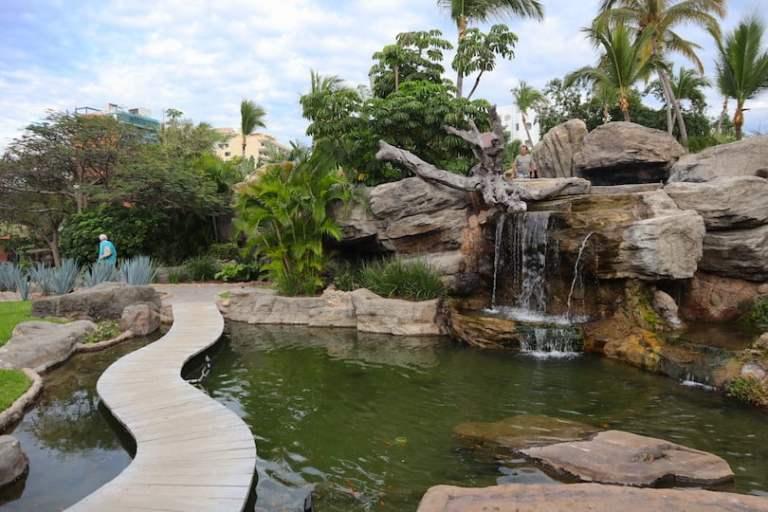 the grounds at hotel playa mazatlan