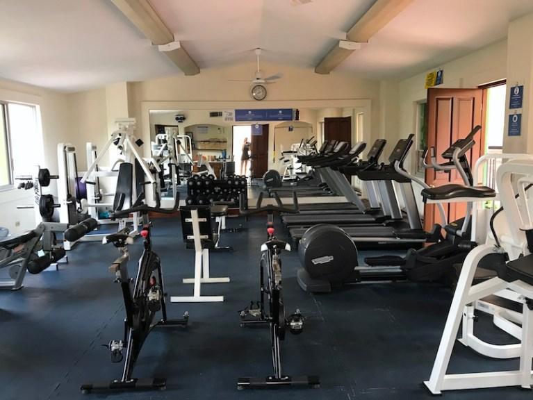 gym at hotel playa mazatlan