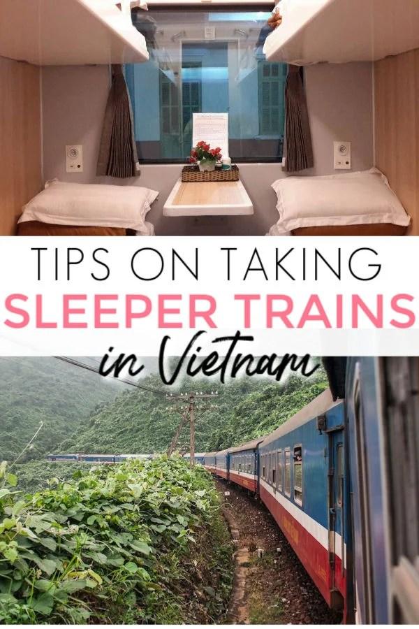 tips on taking a sleeper train in Vietnam
