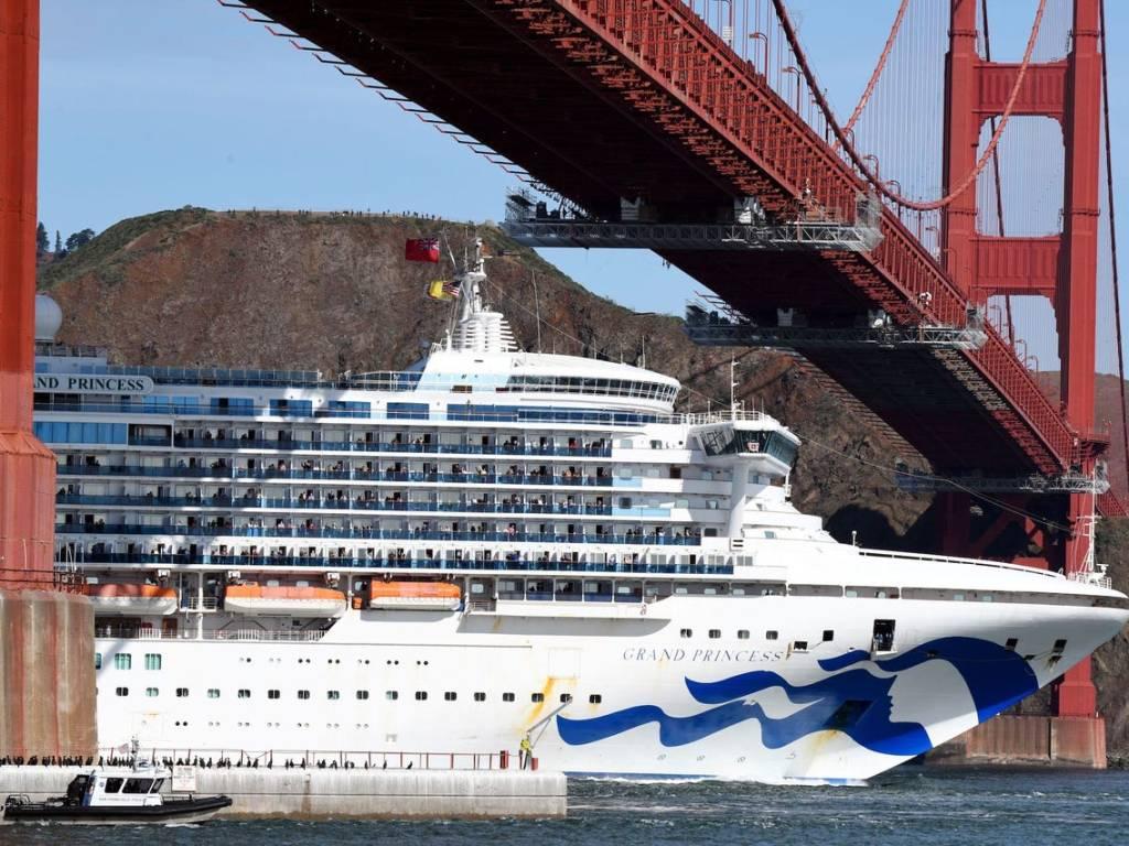 Princess cruises suspends all cruises due to corona virus