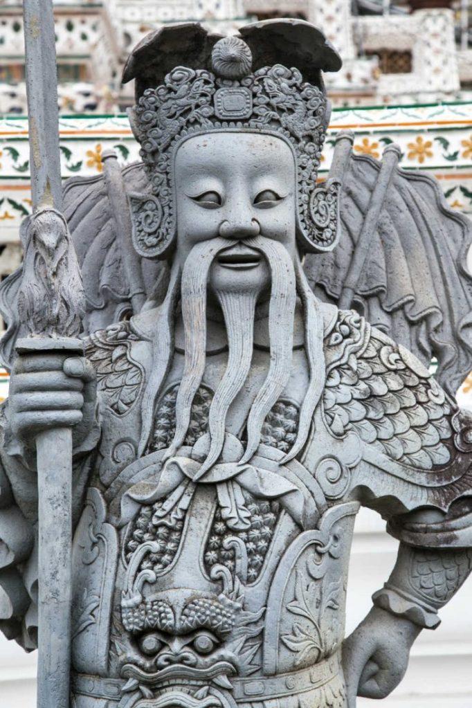Emperor in thailand statue