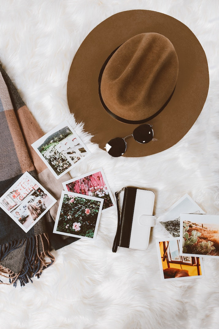 make a travel bucket list vision board