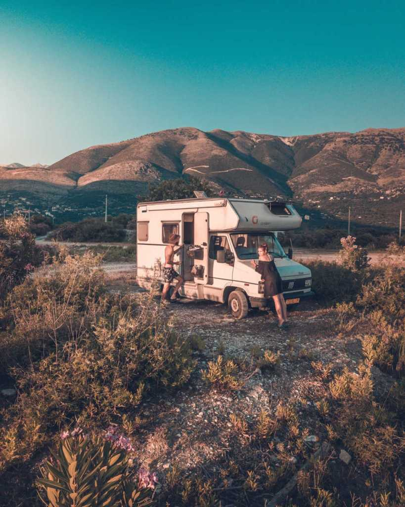 safe family camping in an rv