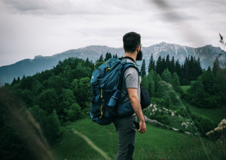 backpacking in romania