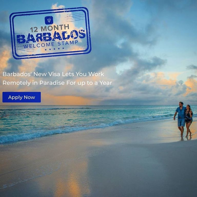 barbados remote work visa application