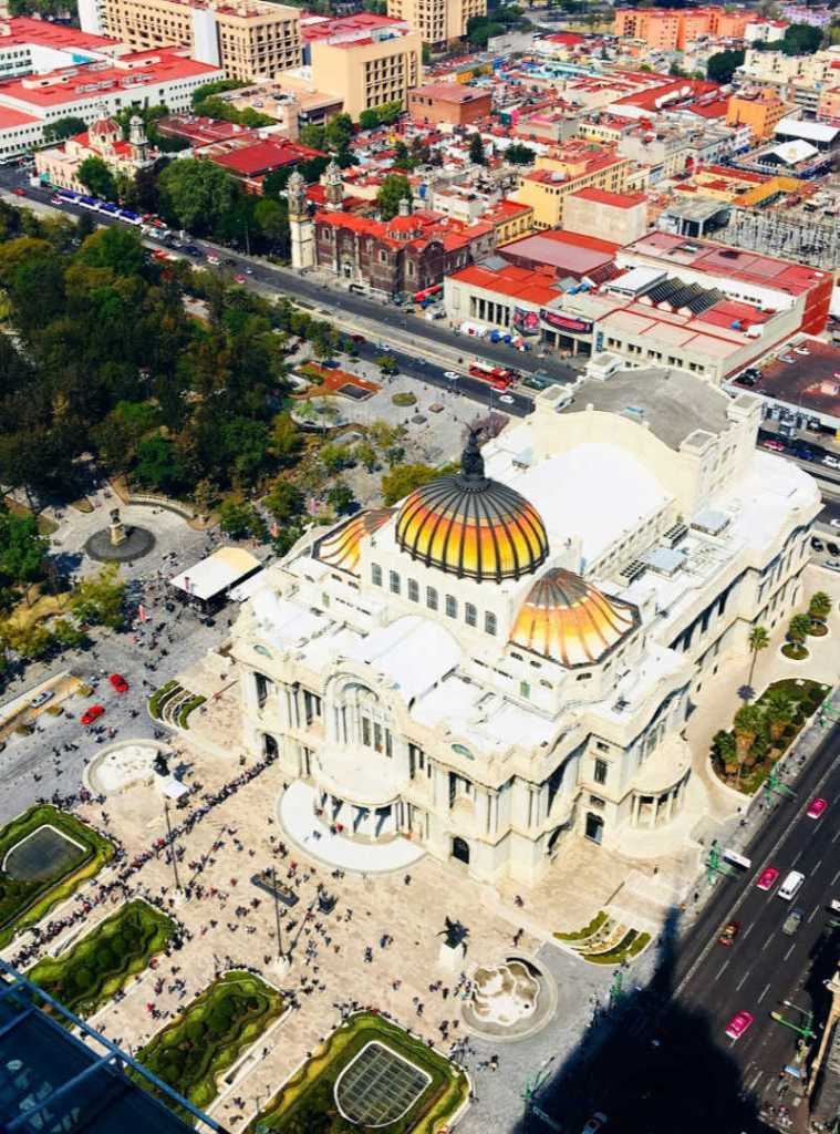 Palace tourist attraction in Mexico City