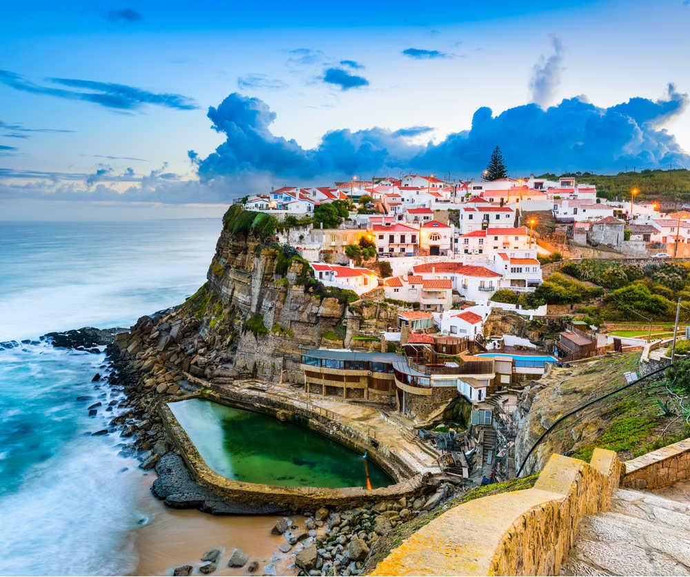 Azenhas do Mar, Portugal coastal town