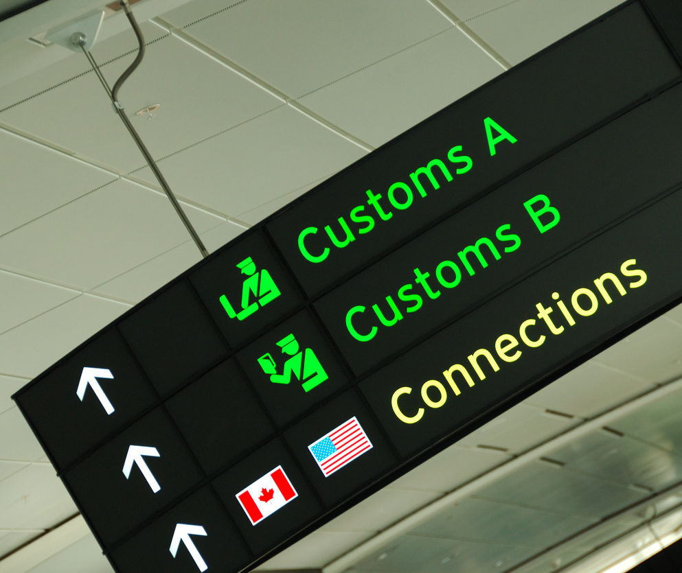 Canada customs and border agency