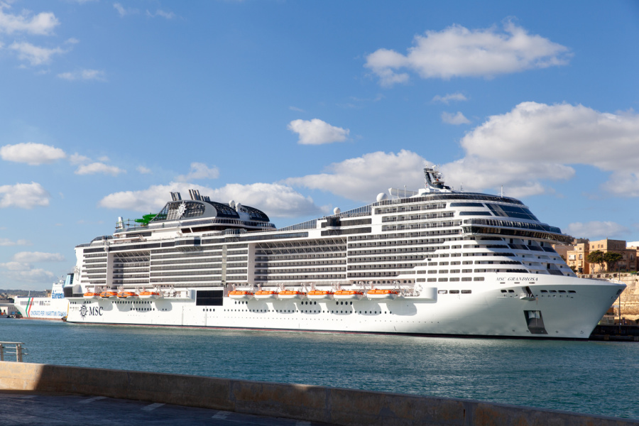 MSC Grandiosa sets sail, first Mediterranean cruise to do so amid pandemic