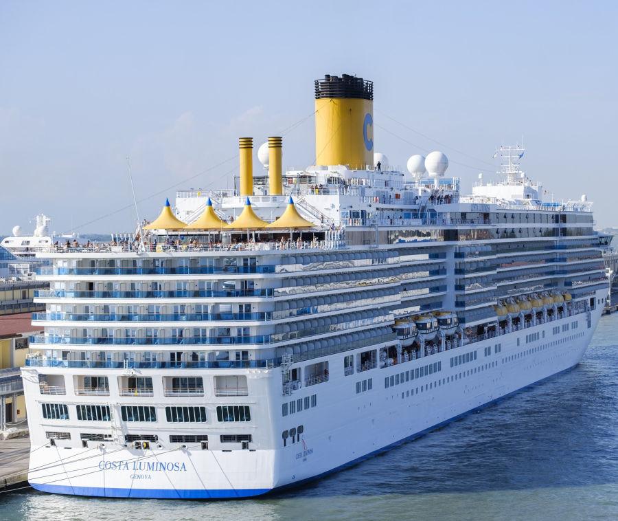 Costa Cruise Ship in port