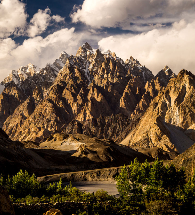 Karakorum range, Pakistan