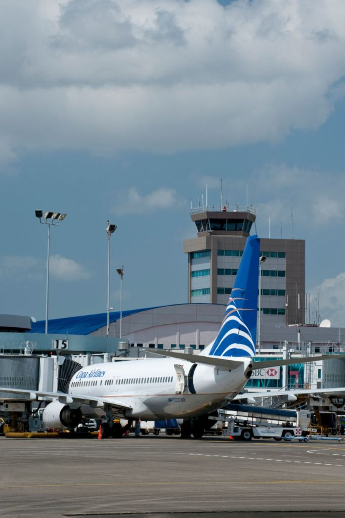 Panama International Airport, Tower and new Terminal, Panama, Central America