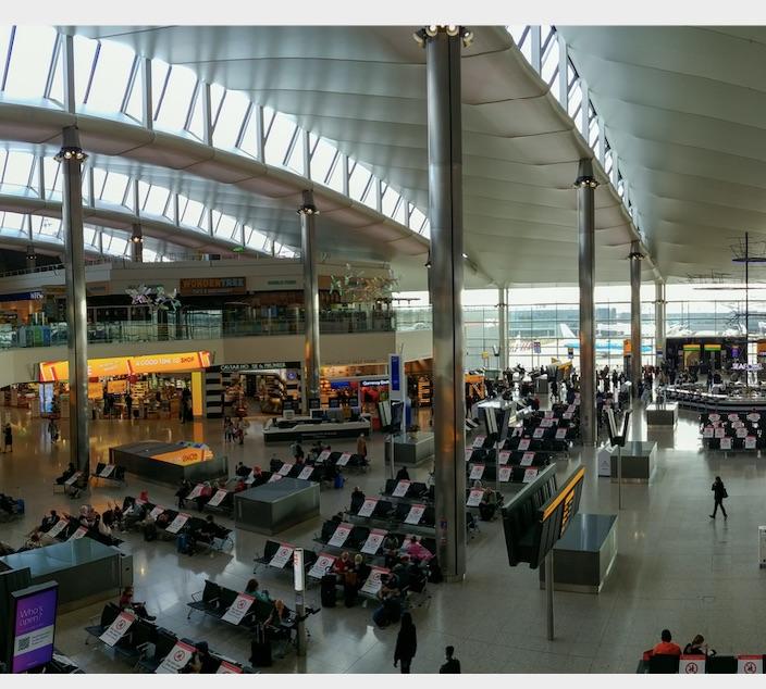 heathrow airport pcr testing