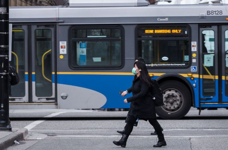 B.C. Enacts Mandatory Masks, Social Lockdown & Travel Ban