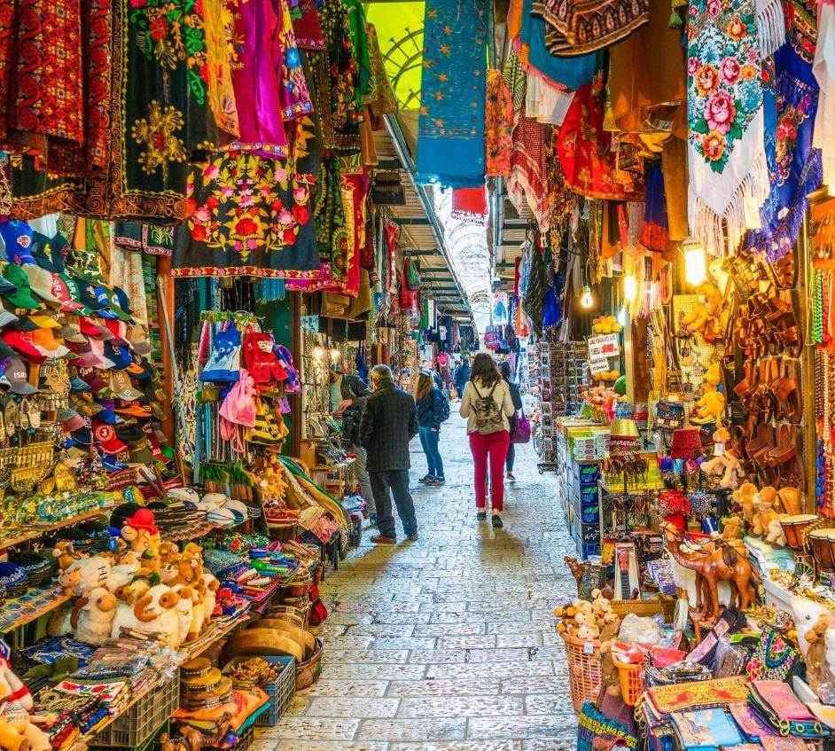 Jerusalem tourist market