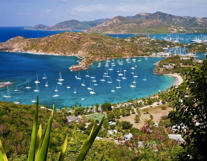 bay of antigua and barbuda