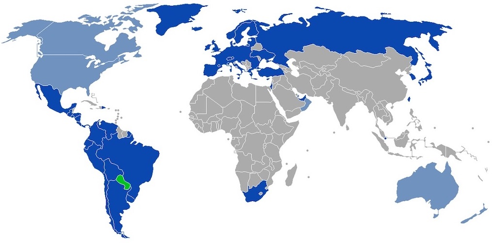 visa rules for paraguay