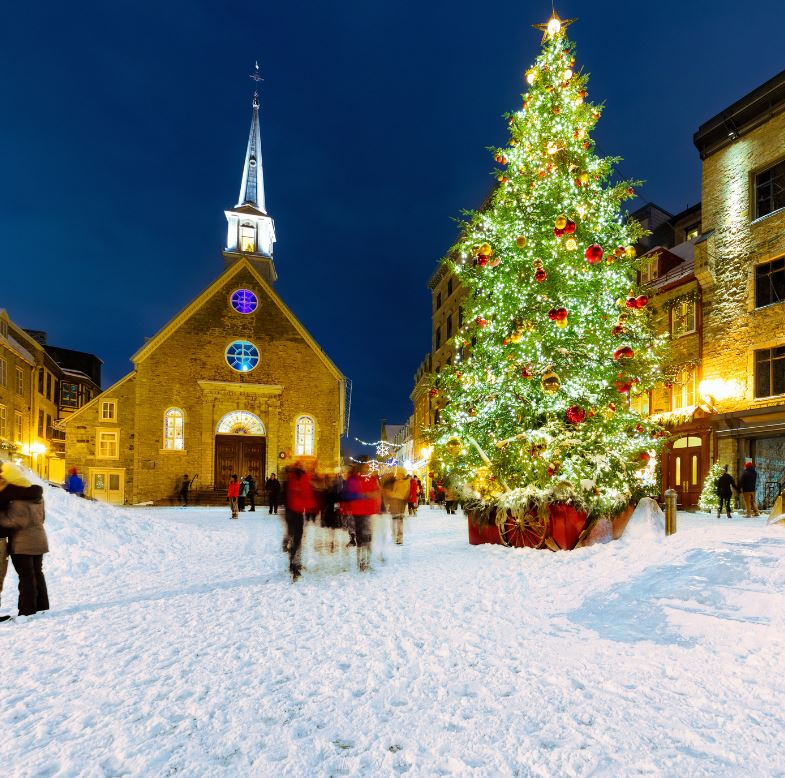 Christmas at Place Royale, Quebec City