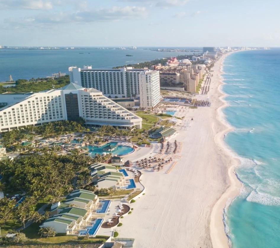 cancun beach and resorts