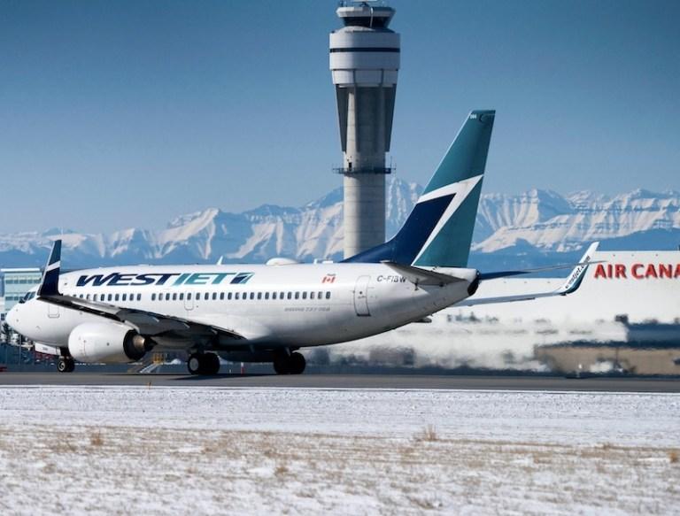 westjet air canada airport