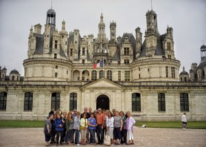 Group touring Chambord