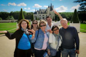 Sunny days at Chenonceau