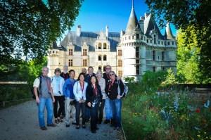Touring Azay-le-Rideau castle