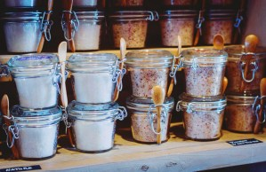 provence salts at market