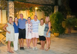Provence guests dinner fun