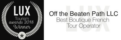 LUX Tourism Awards 2018 - Best Boutique French Tour Operator