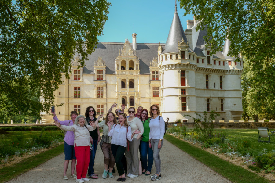 loire valley france castle tour itinerary castles. Black Bedroom Furniture Sets. Home Design Ideas