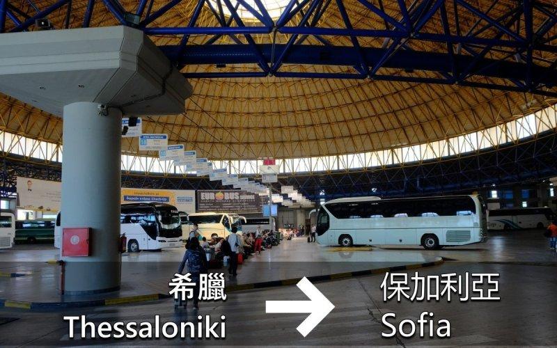 交通通識:由塞薩洛尼基(Thessaloniki) 到索菲亞(Sofia)